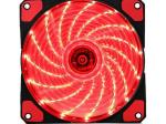 Kopplen 120MM RED LED SILENT FAN (15 LED)